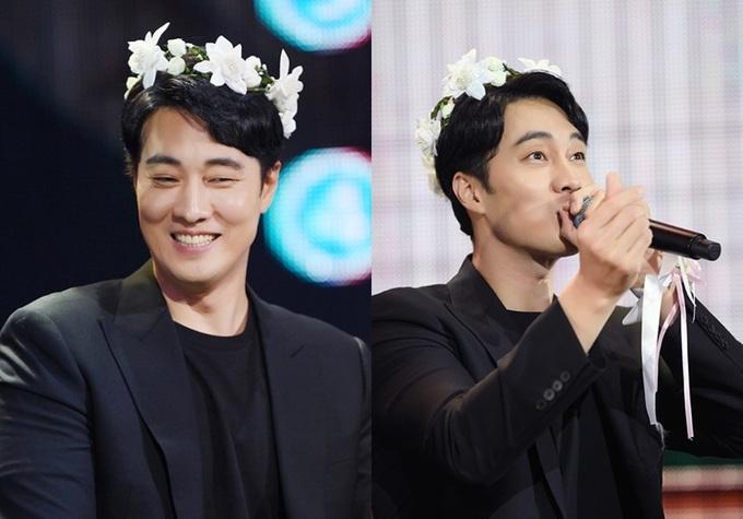 So Ji Sub đeo cánh thiên thần, đội vòng hoa trước 3.000 fan Đài Loan