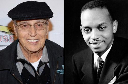 Tony Lip (trái)và Don Shirley ngoài đời thực.