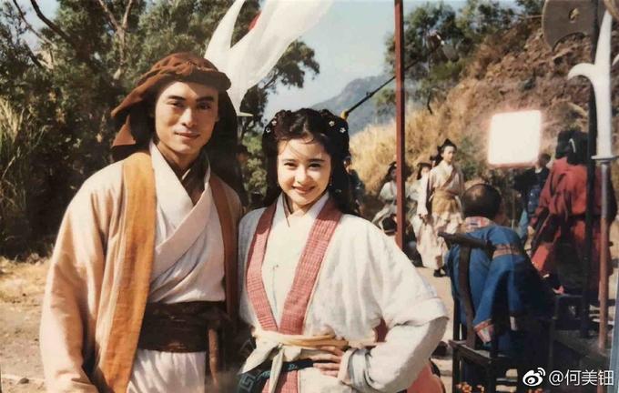 Sao 'Thiên Long Bát Bộ' 1997 gợi hoài niệm với loạt ảnh hậu trường