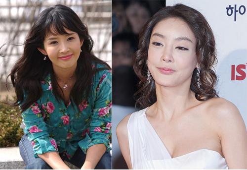 Hai diễn viên Choi Jin Sil (trái) và Yang Ja Yun.