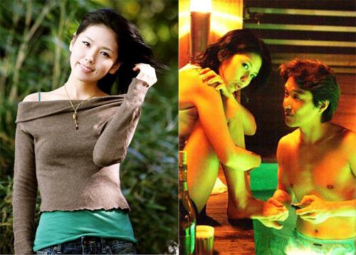 Lee Eun Joo và vai diễn của cô trong The Scarlet Letter.