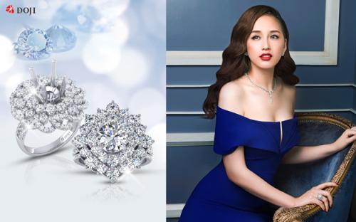 Đeo trên mình viên kim cương làgiấc mơ của phái đẹpmọi thời đại.