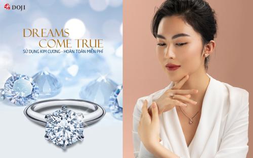 Chương trình sử dụng kim cương - hoàn toàn miễn phí - Dreams Come True.