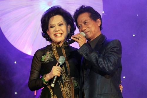 Giao Linh - Chế Linh là đôi song ca ăn ý hàng chục năm.