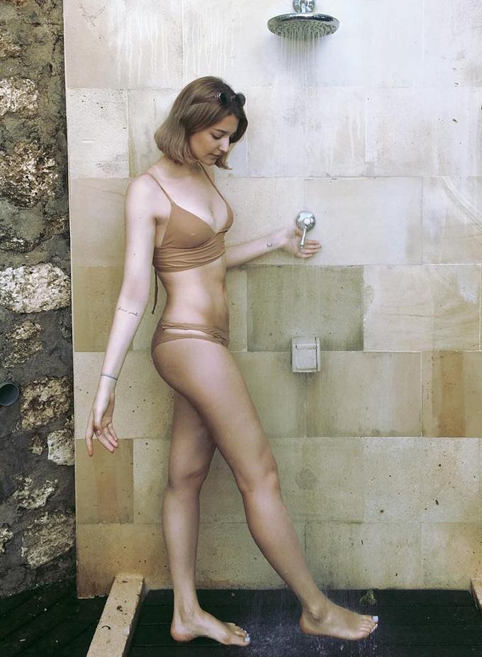 Cô gái Nga nổi tiếng khi làm mẫu ở Hàn Quốc