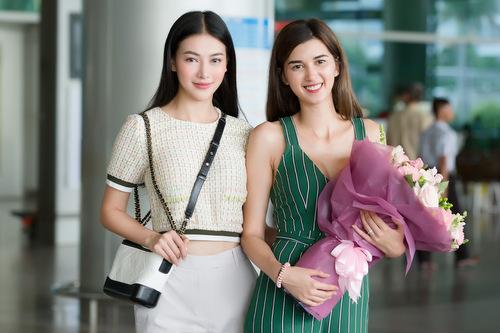 Phương Khánh đón Á hậu 1 Miss Earth 2018 đến Việt Nam - ảnh 1
