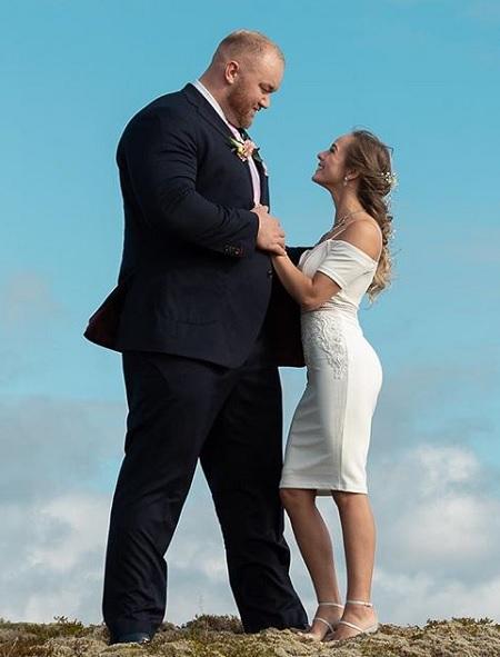 Chuyện tình sao khổng lồ Game of Thrones và vợ thấp hơn nửa mét - ảnh 8