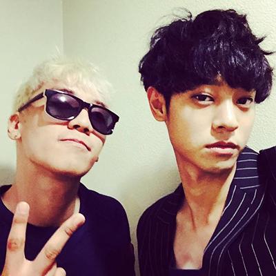 Seungri (trái) và Jung Joon Young - thành viên nhóm chat đồi trụy.