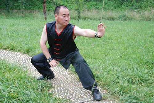 Trần Đồng Sơn - hiệu trưởng trường võ Thiếu Lâm Tiểu Long.