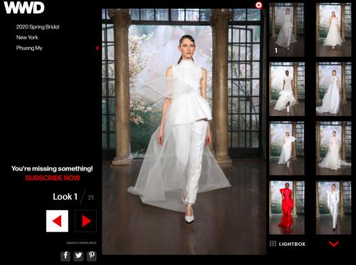 Bộ sưu tập đầm cưới của NTK Việt Nam xuất hiện trên báo Mỹ - ảnh 5