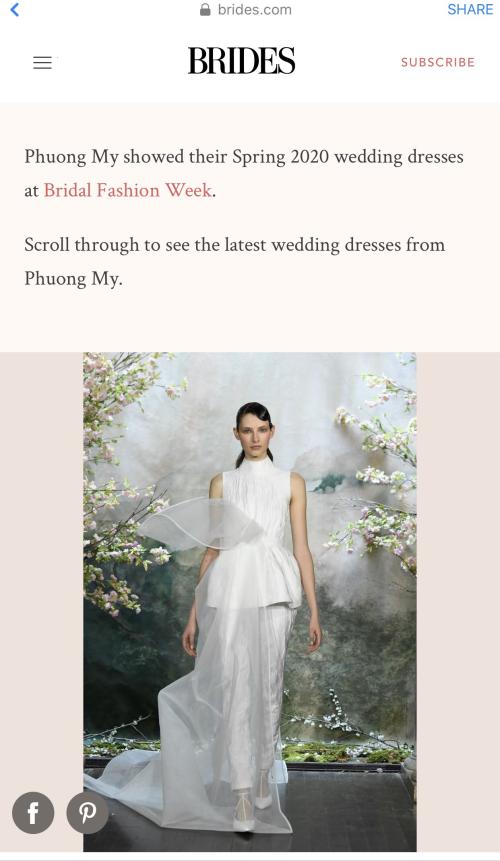 Bộ sưu tập đầm cưới của NTK Việt Nam xuất hiện trên báo Mỹ - ảnh 6