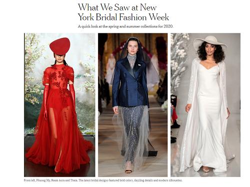 Bộ sưu tập đầm cưới của NTK Việt Nam xuất hiện trên báo Mỹ - ảnh 1