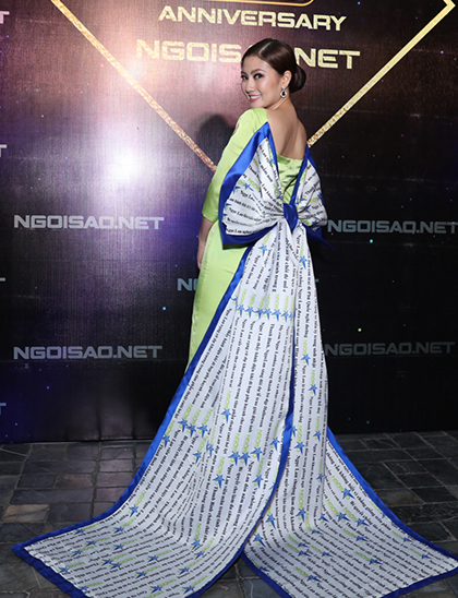 Ngọc Lan, Thanh Bình đoạt giải Nữ hoàng, ông hoàng đêm tiệc Ngoisao - ảnh 3