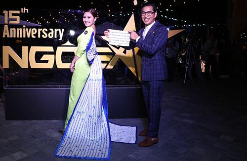 Ngọc Lan, Thanh Bình đoạt giải Nữ hoàng, ông hoàng đêm tiệc Ngoisao - ảnh 2