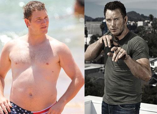 Chris Pratt biến đổi hình thể ngoạn mục để thành tài tử hạng A.