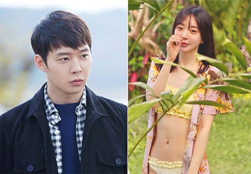 Yoo Chun và bạn gái cũ - Hwang Ha Na.