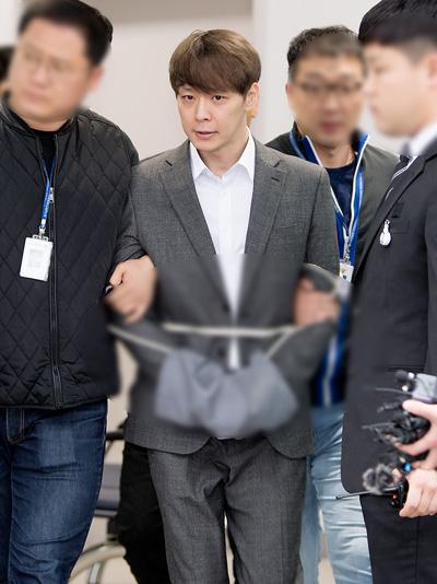 Yoo Chun bị bắt hôm 26/4.