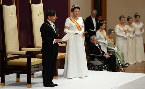 Hôm 1/5, Thái tử Naruhito lên ngôi Nhật hoàng.