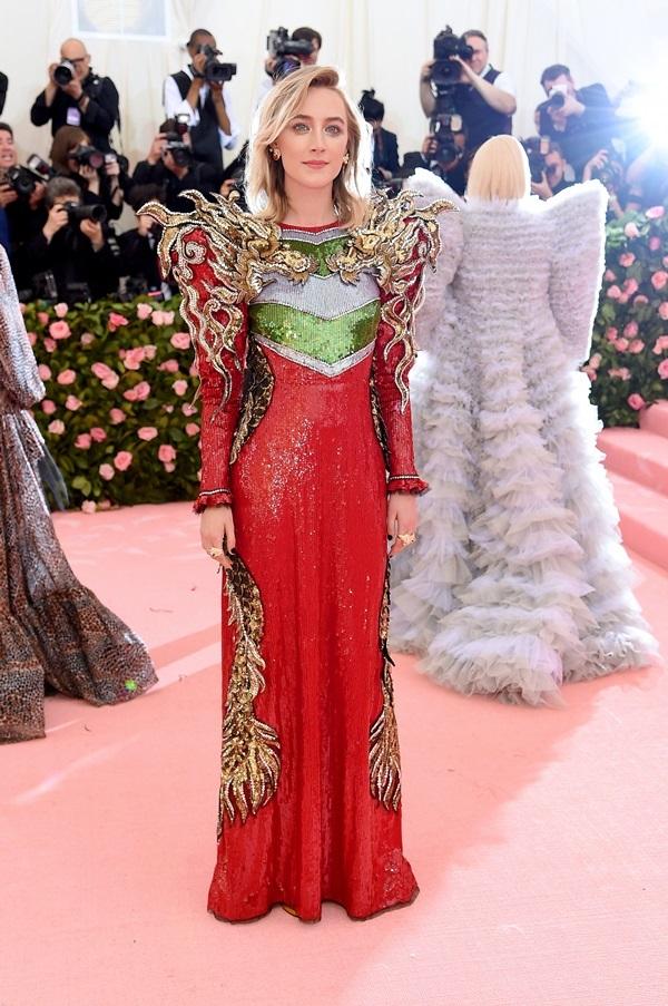 Những ngôi sao mặc đẹp ở Met Gala 2019