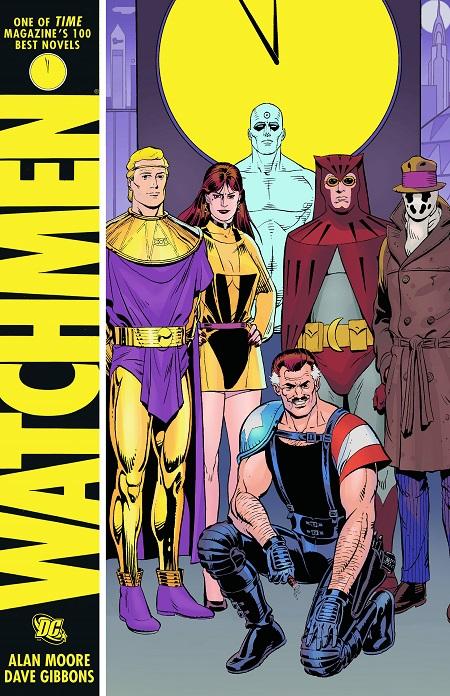 Bìa truyện Watchmen.
