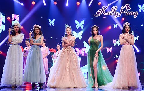 Chương trình biểu diễn Fantasy độc đáo của các người mẫu tại sự kiện.