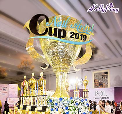 Lễ ra mắt cuộc thi Cup nghệ sĩ nail 2019 cũng sẽ được diễn ra tại sự kiện.