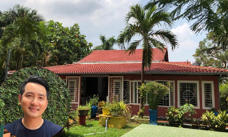 Nhà vườn rộng 3.000 m2 của Nguyễn Phi Hùng - Giải Trí