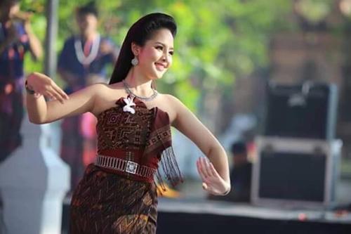 Nghệ sĩ Thái Lan tham gia Liên Hoan.