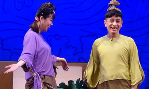 Lê Khánh (trái) và Đình Toàn