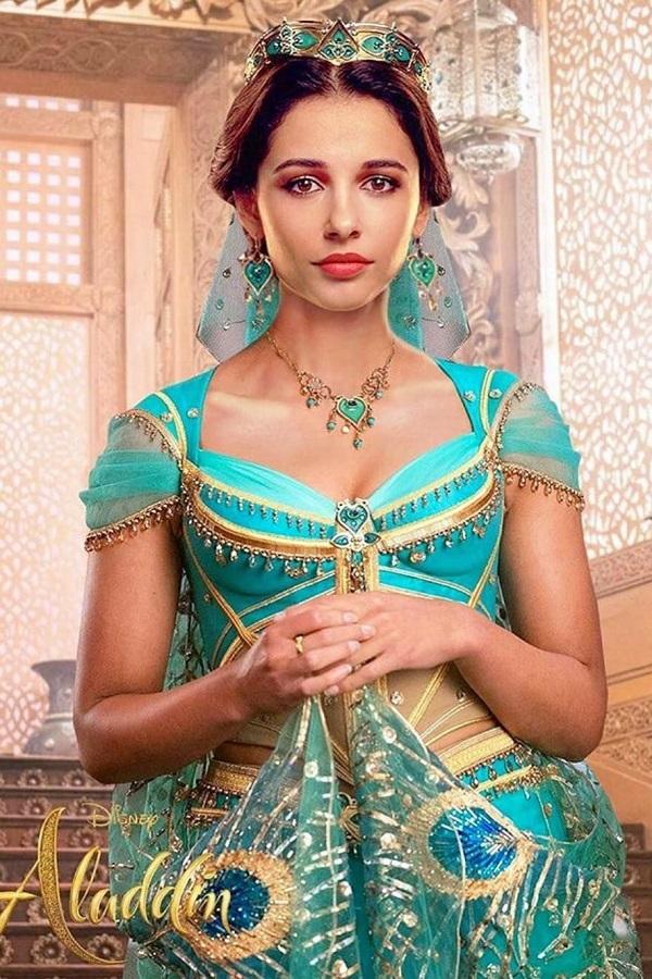 Naomi Scott - bông hồng lai đóng công chúa trong phim 'Aladdin'