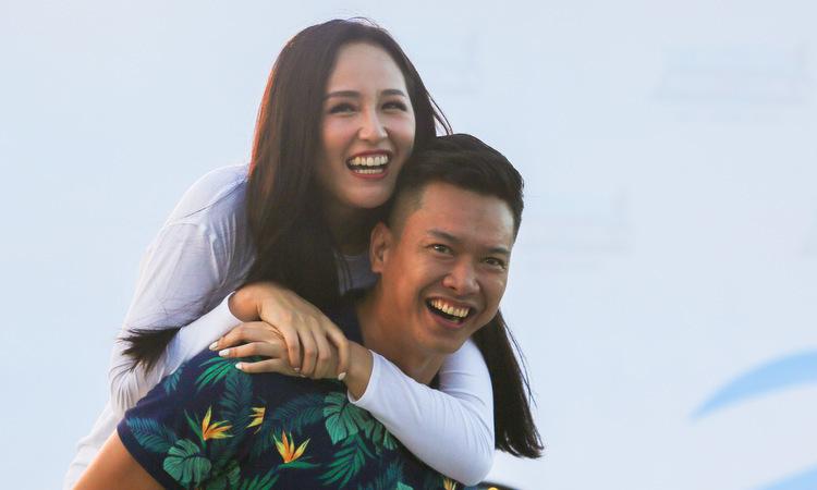 Mai Phương Thúy, Hồ Đức Vĩnh sẵn sàng cho giải VnExpress Marathon - VnExpress Giải Trí