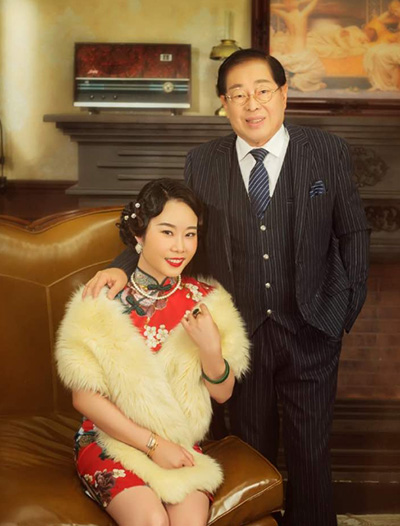 Vợ chồng Samantha Ee Kai Chee.
