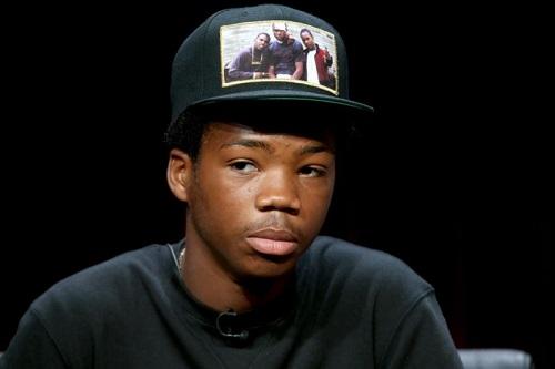 Brian Bradley sinh năm 1996, ngoài diễn xuất còn là rapper với nghệ danh Astro. Ảnh: AFP.