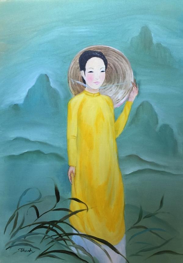 Triển lãm tranh về phụ nữ Việt xưa và nay