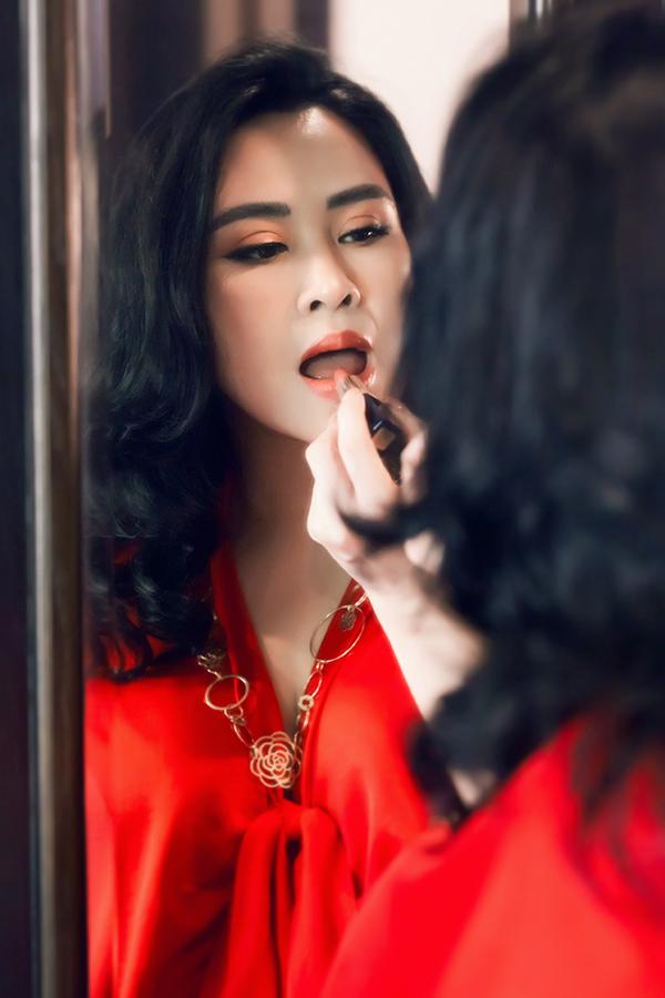 Sắc vóc tuổi 50 của Thanh Lam