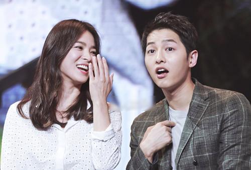 Hye Kyo và Joong Ki khi yêu nhau. Ảnh: QQ.