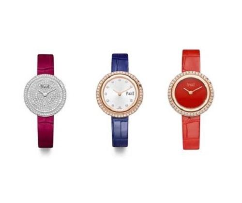 Ba mẫu đồng hồ đều thuộc BST Possession Piaget của Piaget.