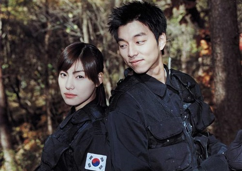 Spy girl (Cô nàng điệp viên) là dự án hài Kim Jung Hwa với Gong Yoo