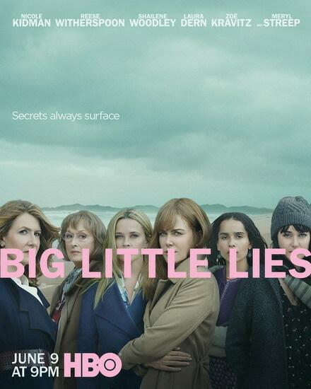 Big Little Lies đang là một trong những series thành công nhất của HBO, khai thác về cuộc sống giàu sang nhưng nhiều bí mật đen tối của hội chị em nhà giàu tại California, Mỹ.