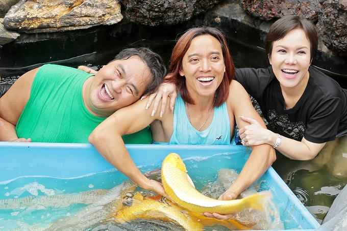Hồ cá Koi 5 tỷ đồng của diễn viên hài Hoàng Mập