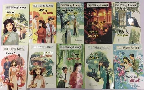 Mười đầu sách mới ra mắt của nữ văn sĩ BàTùng Long