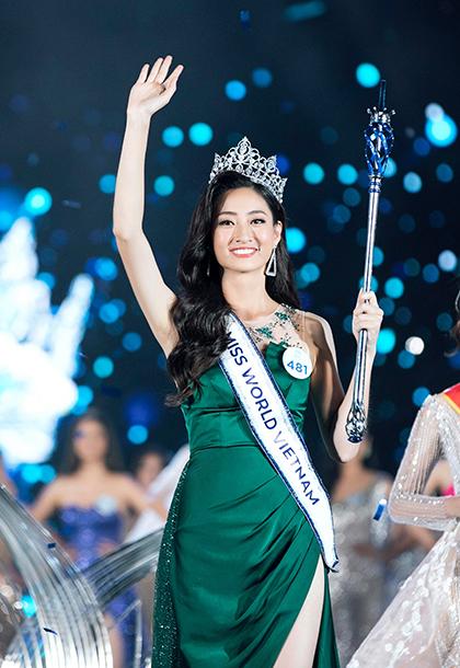 Lương Thuỳ Linh đăng quang Hoa hậu Thế giới Việt Nam