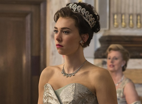 Vanessa Kirby trong The Crown. Ảnh: Netflix.