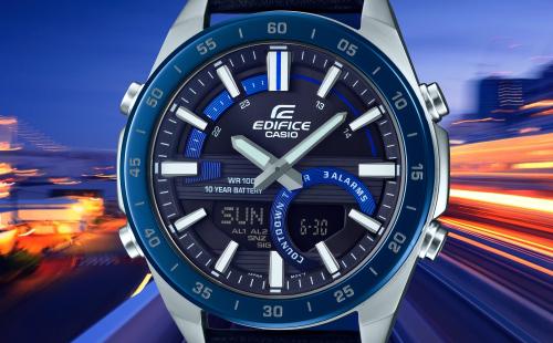 Đồng hồ Casio Edifice pin 10 năm dành cho quý ông - ảnh 2