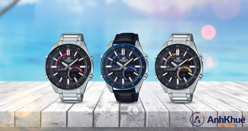 Đồng hồ Casio Edifice pin 10 năm dành cho quý ông - ảnh 1