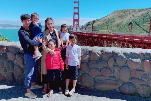 Lý Hải - Minh Hà và bốn con du lịch Âu, Mỹ dịp hè - ảnh 6