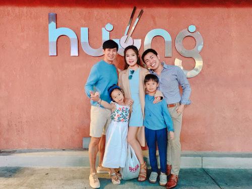 Lý Hải - Minh Hà và bốn con du lịch Âu, Mỹ dịp hè - ảnh 7