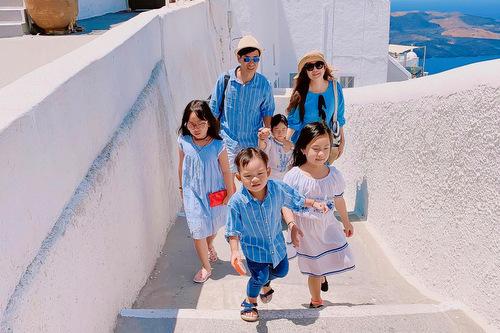 Lý Hải - Minh Hà và bốn con du lịch Âu, Mỹ dịp hè - ảnh 3