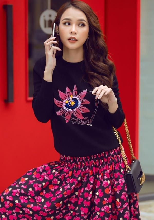 Sam khoe phong cách trên đường phố Hàn Quốc