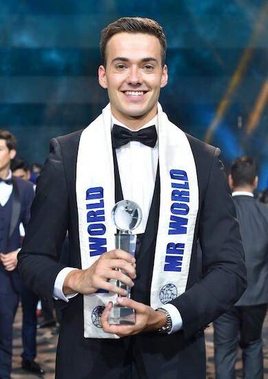 Chàng trai Anh đăng quang Mr. World